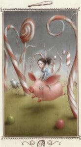 Lá Knight of Wands - Nicoletta Ceccoli Tarot