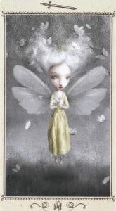 Lá Page of Swords - Nicoletta Ceccoli Tarot