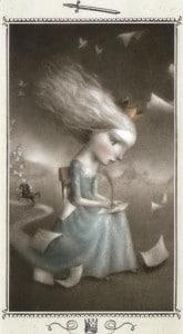 Lá King of Swords - Nicoletta Ceccoli Tarot
