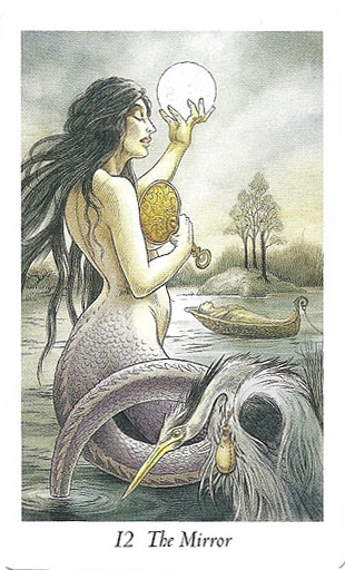 Lá 12. The Mirror – Wildwood Tarot