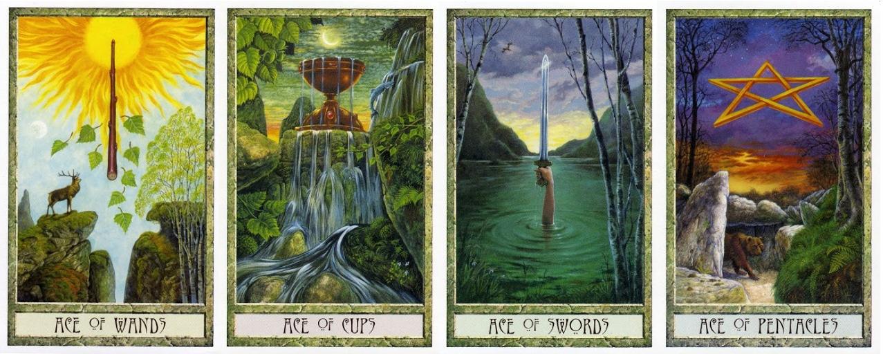 Số học cơ bản trong The Druid Craft Tarot