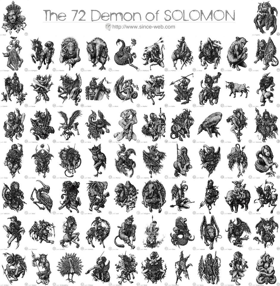 72 Con Quỷ Của Vua Solomon