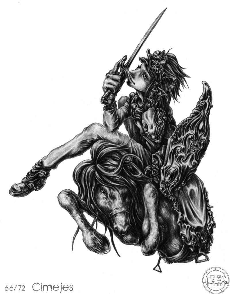 72 Con Quỷ Của Vua Solomon – CIMEIES