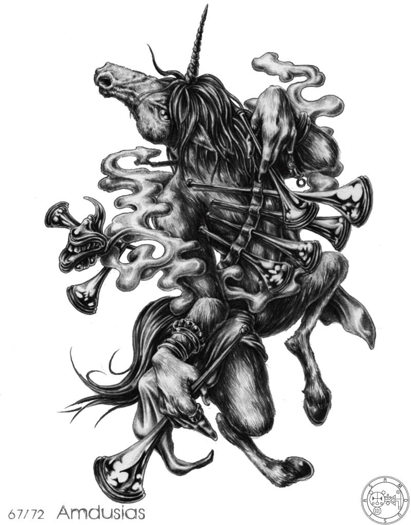 72 Con Quỷ Của Vua Solomon – AMDUSCIAS