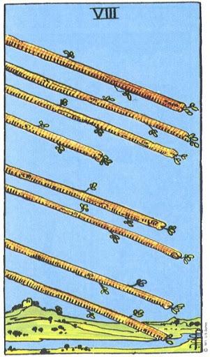 Ý Nghĩa Biểu Tượng 78 Lá Bài Tarot – Eight of Wands