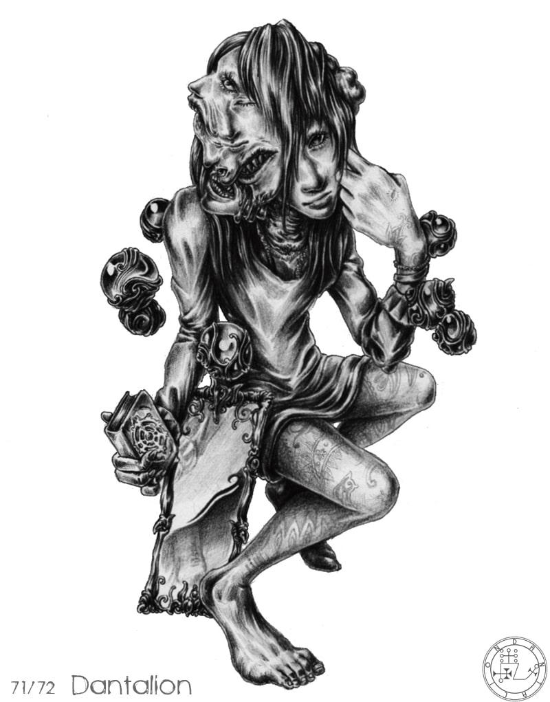 72 Con Quỷ Của Vua Solomon – DANTALIAN
