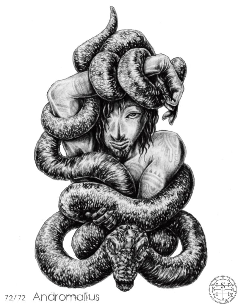72 Con Quỷ Của Vua Solomon – ANDROMALIUS