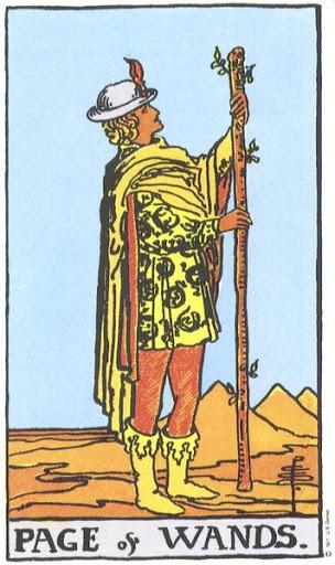 Ý Nghĩa Biểu Tượng 78 Lá Bài Tarot – Page of Wands