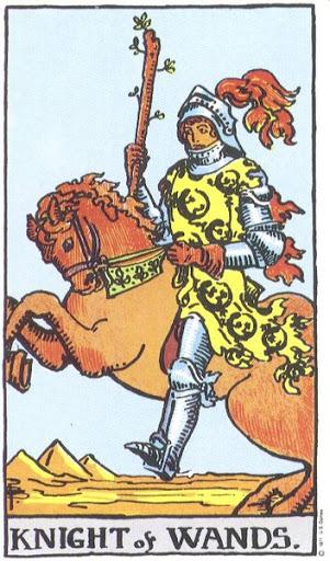 Ý Nghĩa Biểu Tượng 78 Lá Bài Tarot – Knight of Wands