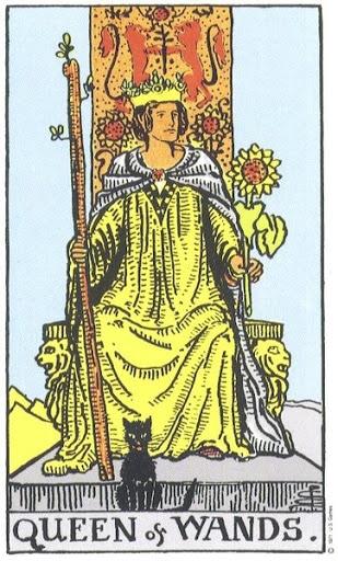 Ý Nghĩa Biểu Tượng 78 Lá Bài Tarot – Queen of Wands