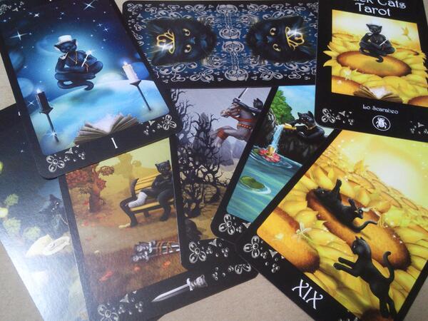 Black Cats Tarot – Sách Hướng Dẫn