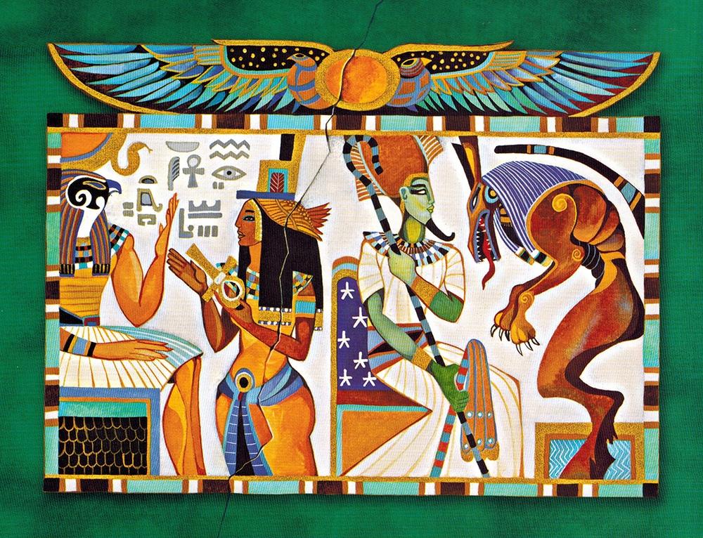 Thần Thoại Ai Cập - Chuyện Về Các Thần, Ác Quỷ Và Con Người 1