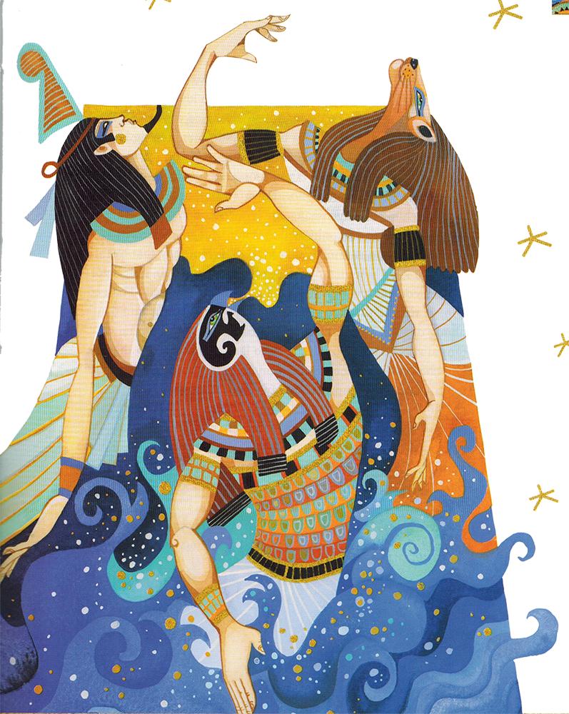 Thần Thoại Ai Cập – Nữ Thần Tefnut & Thần Shu