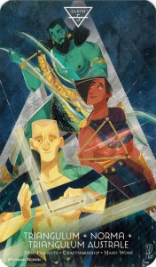 Ý nghĩa lá 5 of Earth trong bộ Cosmos Tarot