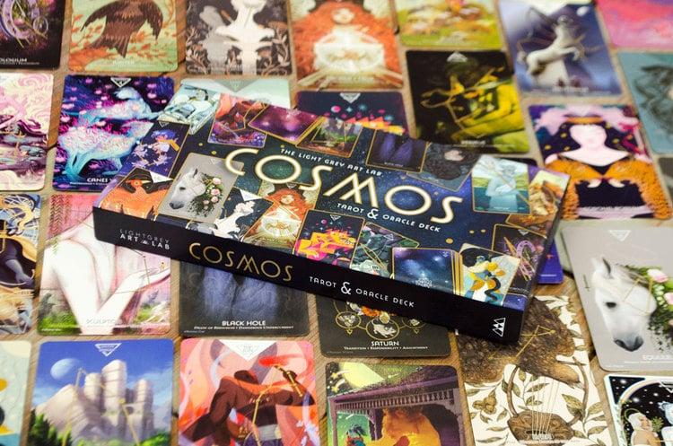 Cosmos Tarot & Oracle - Sách Hướng Dẫn - Tarot Việt Nam