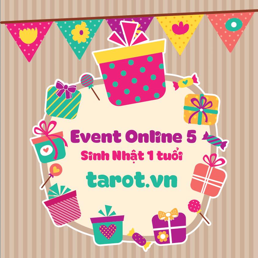 [Event Online 5] – Sinh nhật Tarot.vn lần thứ nhất!