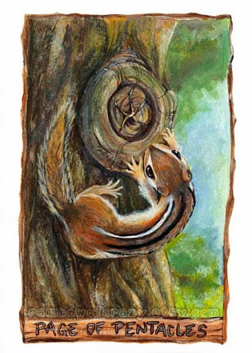 Page of Pentacles – Animism Tarot