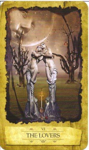 Ý nghĩa lá The Lovers trong bộ Mystic Dreamer Tarot