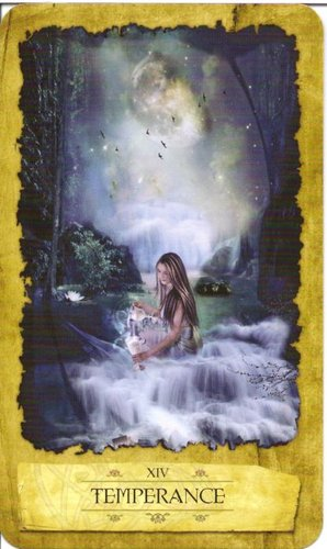 Lá Temperance – Mystic Dreamer Tarot