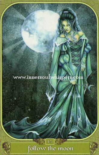Hình Ảnh Lá Follow the moon - Messenger Oracle Kênh Kiến Thức Và Tri Thức