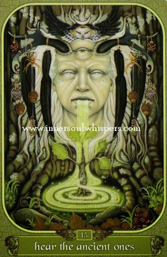 Hình Ảnh Lá Hear the ancient one - Messenger Oracle Kênh Kiến Thức Và Tri Thức