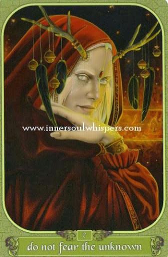 Hình Ảnh Lá Do not fear the unknown - Messenger Oracle Kênh Kiến Thức Và Tri Thức