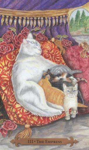 The Empress – Mystical Cats Tarot