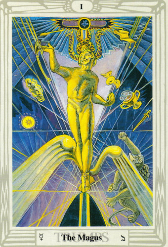 The Magus – Aleister Crowley Thoth Tarot