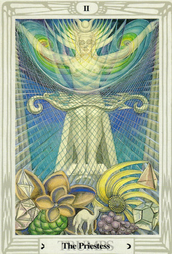 The Priestess – Aleister Crowley Thoth Tarot