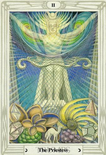 Ý nghĩa lá The Priestess trong bộ bài Thoth Tarot