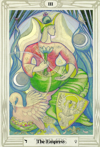 The Empress – Aleister Crowley Thoth Tarot