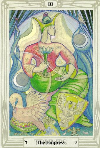 Ý nghĩa lá The Empress trong bộ bài Thoth Tarot