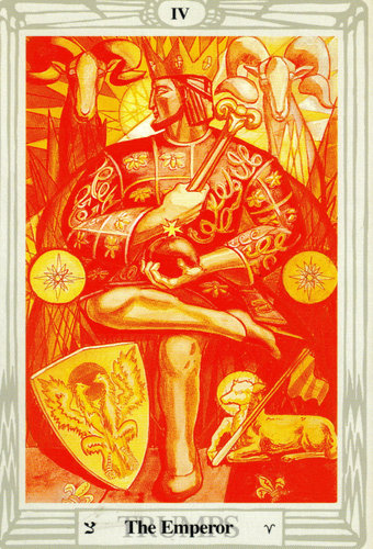 The Emperor – Aleister Crowley Thoth Tarot