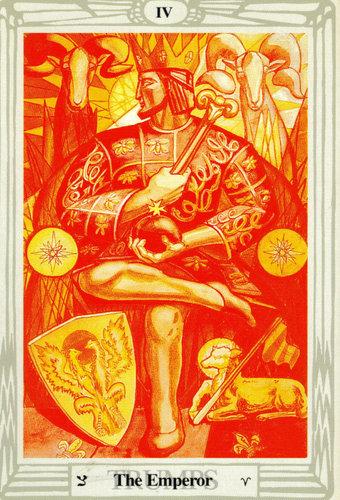 Ý nghĩa lá The Emperor trong bộ bài Thoth Tarot