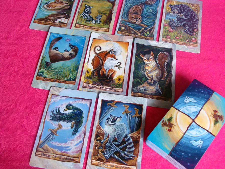 Animism Tarot – Sách Hướng Dẫn