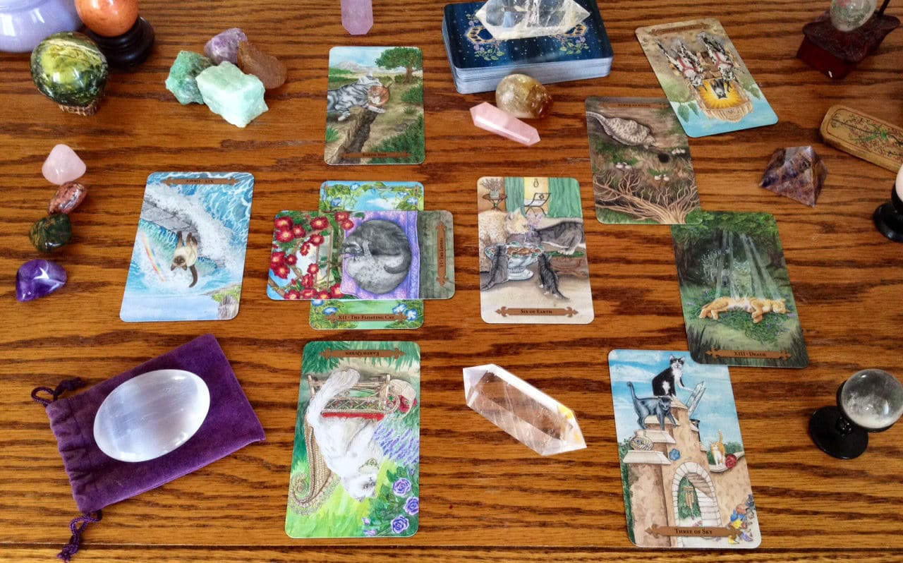 Mystical Cats Tarot – Sách Hướng Dẫn