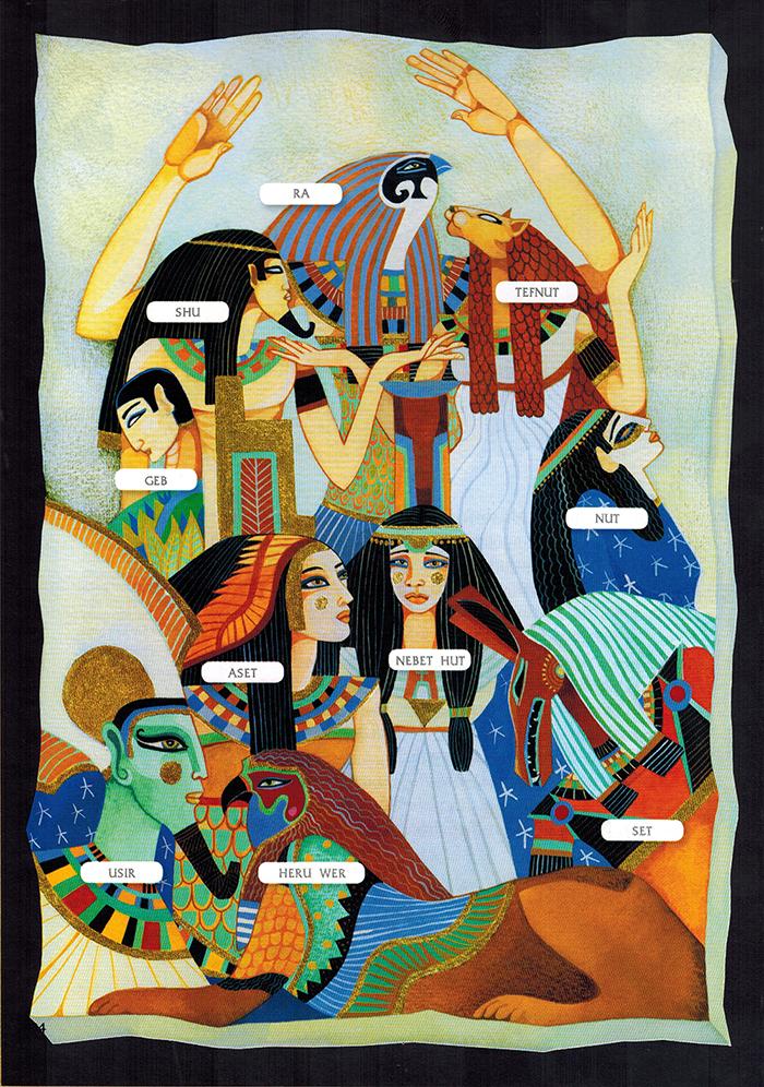 Thần Thoại Ai Cập – Pesedjet Vĩ Đại