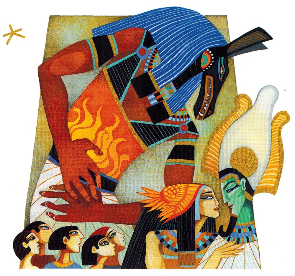 Thần Thoại Ai Cập – Thần Set Ghen Tức