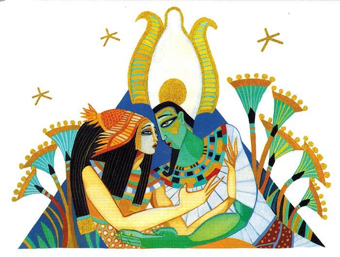 Thần Thoại Ai Cập – Nữ Thần Aset Cứu Chồng