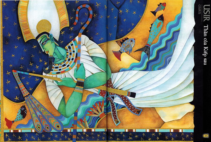 Thần Thoại Ai Cập – Thần Usir