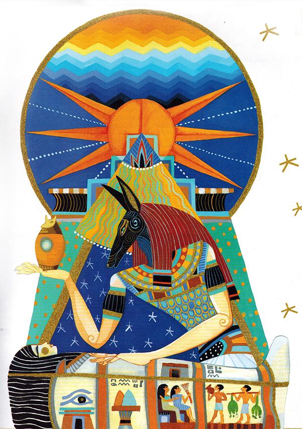 Thần Thoại Ai Cập – Thần Inpu