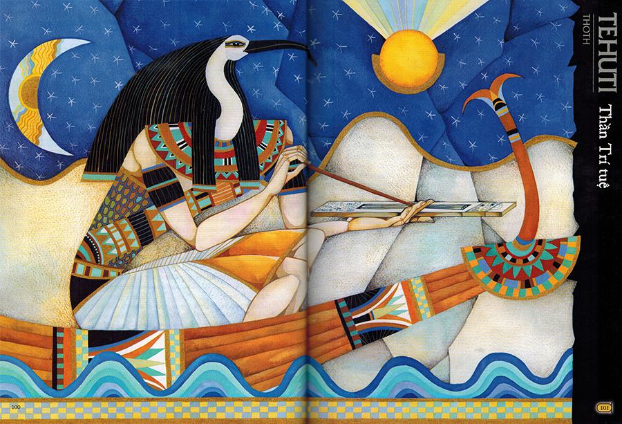 Thần Thoại Ai Cập – Thần Tehuti