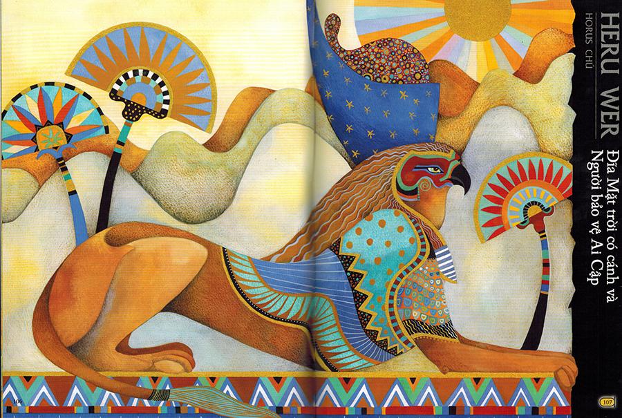 Thần Thoại Ai Cập - Heru Wer 1