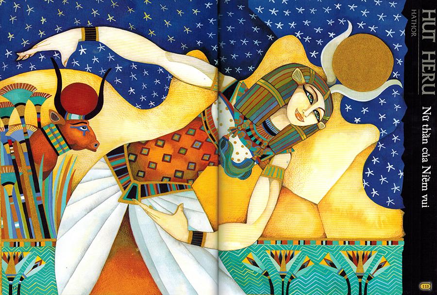 Thần Thoại Ai Cập – Nữ Thần Hut Heru