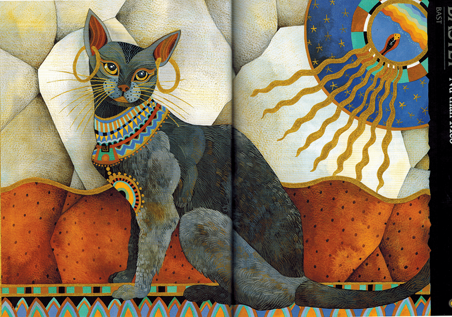 Thần Thoại Ai Cập – Nữ Thần Bastet