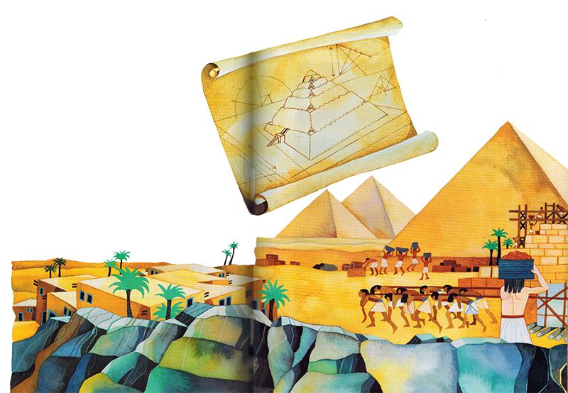 Cần 20.000 đến 30.000 lao động để xây dựng các kim tự tháp vĩ đại. Một số người làm quanh năm. Số khác là nông dân đến làm giúp trong mùa lũ, khi họ không thể làm đồng.