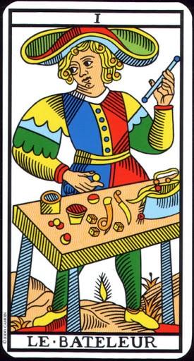 Ý nghĩa lá I - The Magician trong bộ Tarot of Marseilles