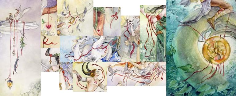 Cảm Nhận Shadowscapes Tarot – Sợi Dây Đỏ Của Rachel