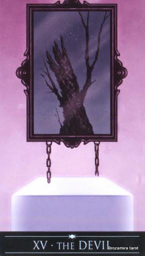 Ý nghĩa lá XV - The Devil trong bộ Silver Witchcraft Tarot