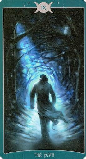 Ý nghĩa lá IX. The Path trong bộ Book of Shadows Tarot - As Above